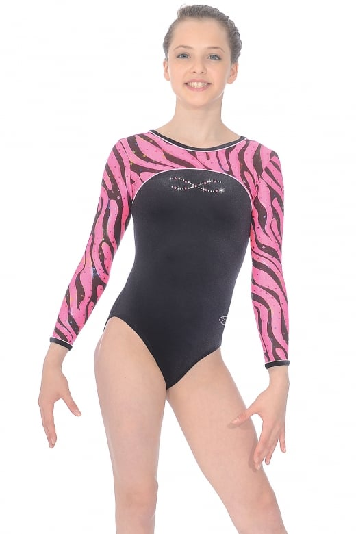 Heatwave Long Sleeve Gymnastics Leotard