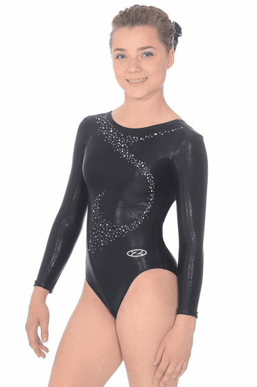 Long Sleeve Shine Gymnastics Leotard Motif 1 4aeb038ca63