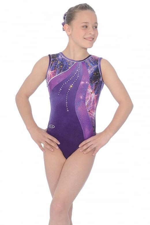 Justaucorps de gymnastique Twilight sans manches