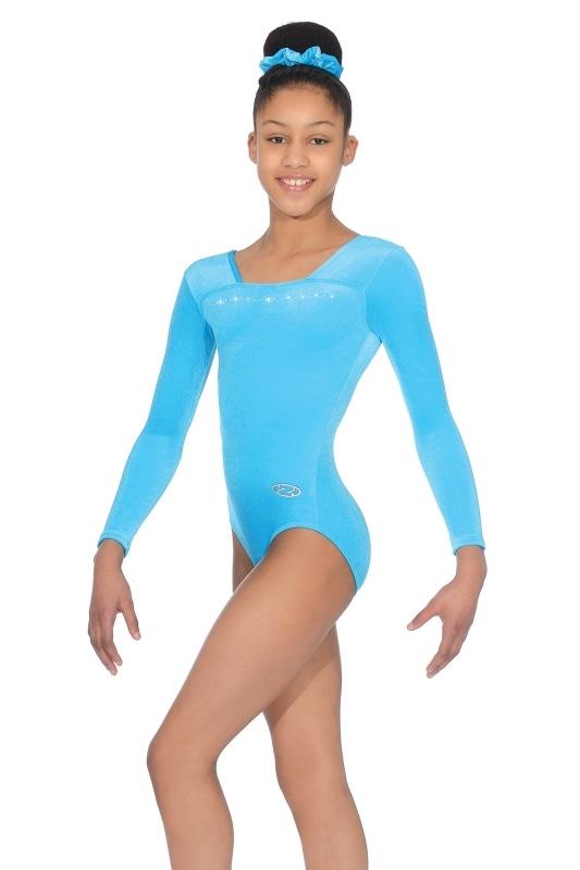 Justaucorps manches longues l gymnastique l velours lycra l the zoneZ685SPA 5c523ccee11